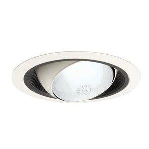 "Juno Lighting 249-BWH 6"" Regressed Eyeball Trim PAR/BR30 Lamp"
