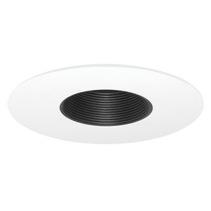 Juno Lighting 424-BWH 6IN LV TRIM BAFFLE MR16