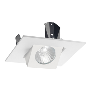 Juno Lighting 440SQ-WH JUN 440SQ-WH 4IN SQ LV TRIM GIMBAL