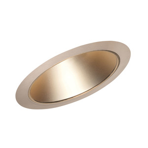 "Juno Lighting 612-WHZABZ Slope Trim, Cone, 6"", Wheat Haze Reflector/Classic Aged Bronze Trim"