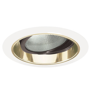 Juno Lighting 689-GWH 5IN TRIM GIMBLE CONE