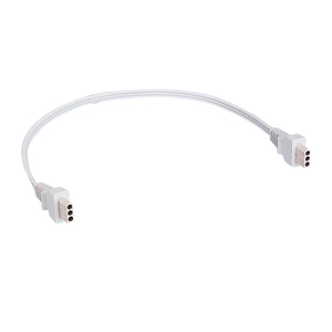 "Juno Lighting JC3-26IN-WH Jumper Cord, 3-Wire, 26"", White"