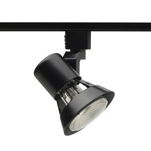 Juno Lighting R531-BL Track Head, Gimbal, PAR20, 1 Lamp, 50W, Black