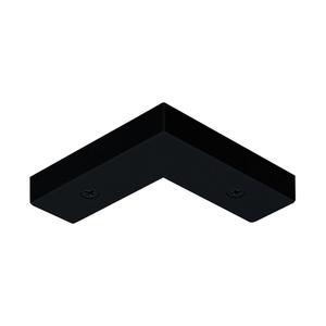 Juno Lighting TL24-BL Right Angle Joiner, Black