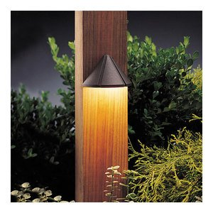 Kichler 15765AZT Deck Light, LED, 1.9W, 12V, Bronze