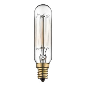 Kichler 5971CLR Incandescent Bulb, Antique, 40W, 120V