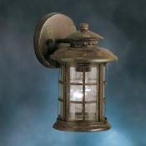 Kichler 9759RST 100W Wall Lantern, Rustic