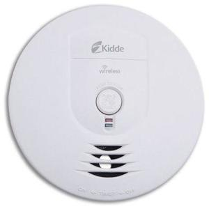 Kidde Fire 0919-9999 Smoke Alarm, Wireless, Ionization Sensor, Battery Powered