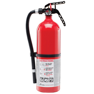 Kidde Fire 21006204 Fire Extinguisher with Wall Hook, Disposable, Class ABC