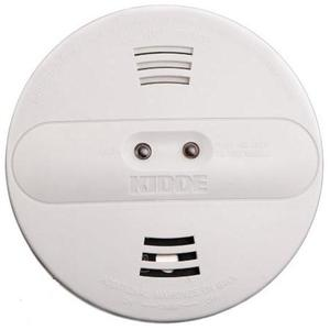 Kidde Fire 21007915 Ionization & Photoelectric Smoke Detector, 120V AC, White
