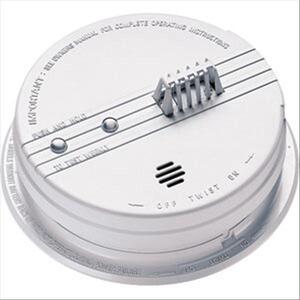 Kidde Fire HD135F Heat Detector, 135° F, White, 120VAC, 9V Battery Backup