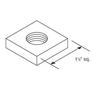 Kindorf B-914-1/2 Square Channel Nut