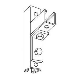 Kindorf B-915 Two Hole Steel Angle Connector