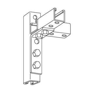 Kindorf B-917 Five Hole Steel Angle Connector