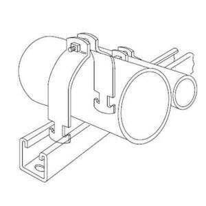 Kindorf C-105-AL-4 Pipe Straps