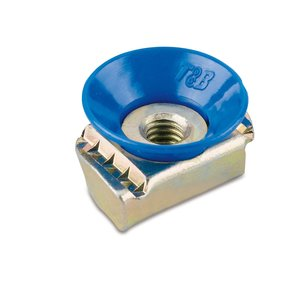 "Kindorf UCN12 Cone Nut, 1/2"", Steel"