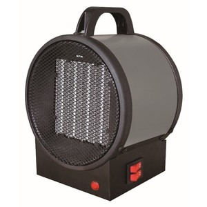King Electrical PUH1215T 1500W Portable Fan Forced Heater