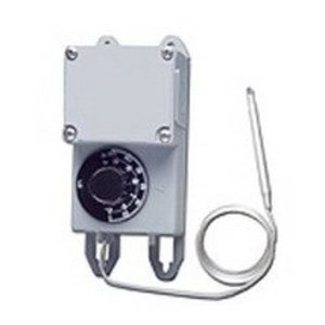 King Electrical TRF115-005 Field Mount Thermostat, 5' Stainless Remote