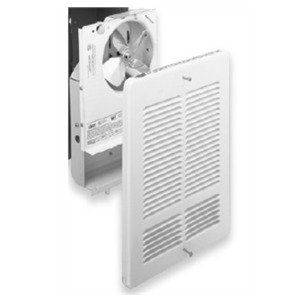 King Electrical W2410I Fan Forced Wall Heater Interior and Grill, 500/1000W, 240V