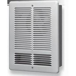King Electrical W2420I-W Fan Forced Wall Heater Interior and Grill, 1000/2000W, 240V