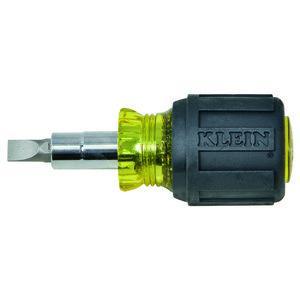 Klein 32561 Multi-Bit Stubby Screwdriver/Nut Driver