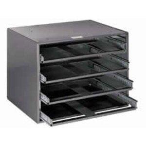"""Klein 54477 4-Box Slide Rack - HxWxD: 20""""x15.75""""x14.5"""""""