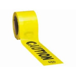 "Klein 58001 Barricade and Warning Tape, 3"" x 1000'"