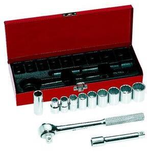 "Klein 65510 12-Piece 1/2"" Drive Socket Wrench Set"