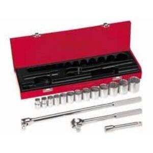 "Klein 65512 16-Piece 1/2"" Drive Socket Wrench Set"