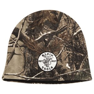 Klein 96943 Klein Camo Knit Cap with Lineman Logo