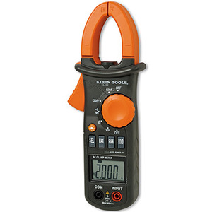 Klein CL100 AC/DC Clamp Meter, 600A