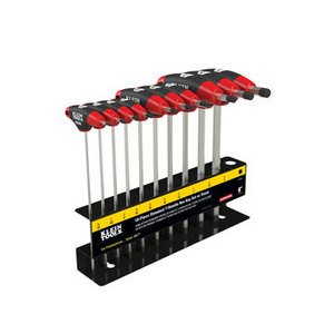 Klein JTH610E 10-Piece SAE T-Handle Set