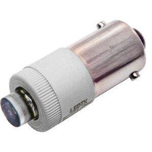 LEDtronics BF321-0CW-028B LED Bayonet Miniature Bulb, T3-1/4, 24/28VDC, 0.45 Watt
