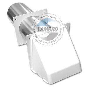 "Lambro 224W Ducting, Wall Vent, 4"""