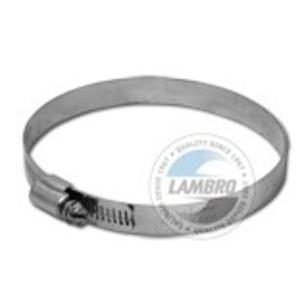 "Lambro 284 Ducting, Clamp, Worm Gear, Diameter: 4"""