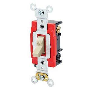 Leviton 1223-2I 3-Way Toggle Switch, Ivory