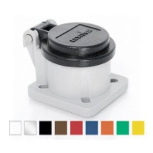 Leviton 16S31-UB Male/Female, Thermoplastic Housing and Cover, Blue