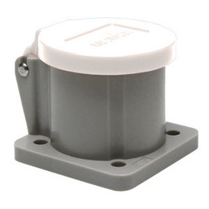 Leviton 16S31-UW Male/Female, Thermoplastic Housing and Cover, White