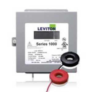 Leviton 1K240-2SW Sub-Meter Kit, with CT's, 120/240VAC, 1P3W, 200A, NEMA 1, Surface