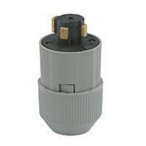 Leviton 21415-B 30 Amp, 600VAC/ 20 Amp, 250VDC, Non-NEMA Plug
