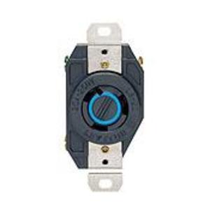Leviton 2320 Locking Receptacle, 20A, 250V. L6-20R, 2P3W