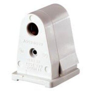 Leviton 2537 Fluorescent Lampholder, Slimline Base, White