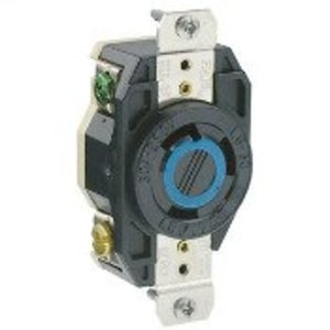 Leviton 2620 Locking Receptacle, 30A, 250V. L6-30R, 2P3W