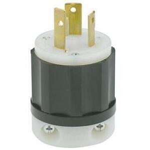 Leviton 2681 Locking Plug, 30A, 480V, 3P3W