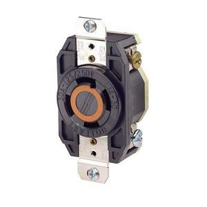 Leviton 2710 Locking Receptacle, 30A, 125/250V, L14-30R, 3P4W