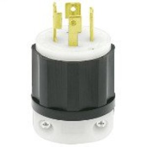 Leviton 2721 Locking Plug, 30A, 3PH 250V, L15-30P, 3P4W