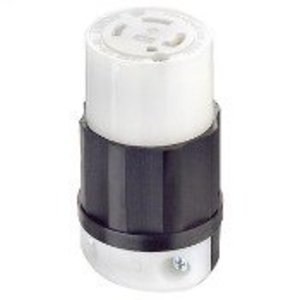 Leviton 2723 Locking Connector, 30A, 3PH 250V, 3P4W