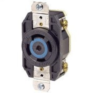 Leviton 2810 Locking Single Receptacle, 30A, 3PH Y 120/208V, 4P5W