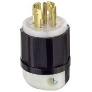 Leviton 2811 Locking Plug, 30A, 3PH Y 120/208V, 4P5W
