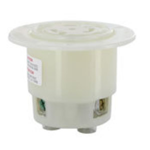 Leviton 2826 L22-30r Flanged Outlet White